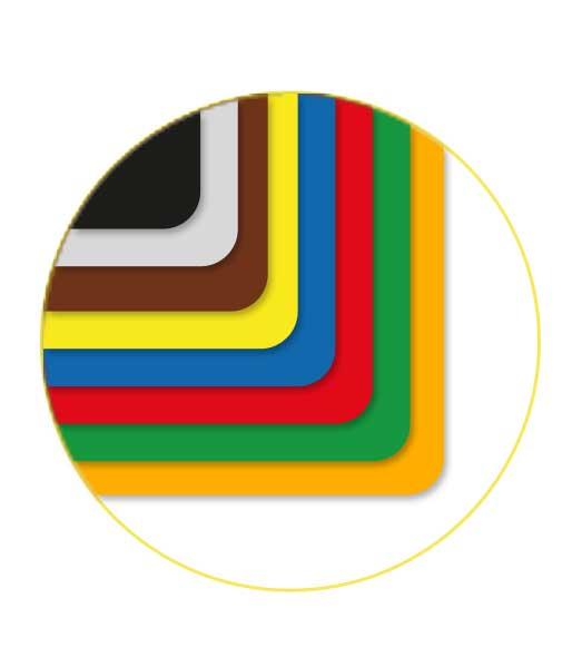 Farebný kartón • FK50mix/225 • 10 farieb á 5 ks • 50 kusov