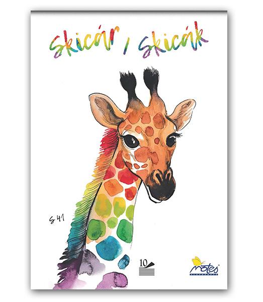 Skicár S41 • 10 • NATURE • Žirafa