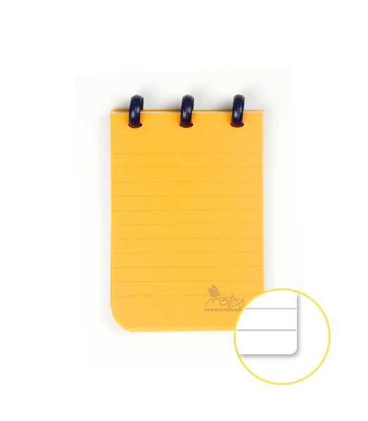 Kolieskový blok (SWINGBLOK) • A7 linkovaný • MIX farieb