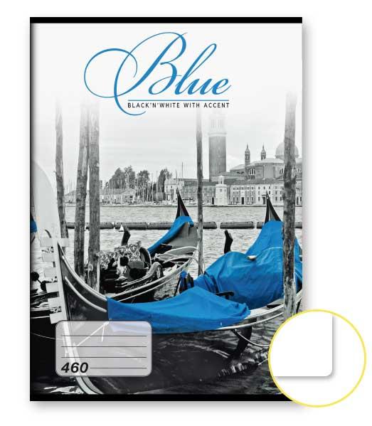 Zošit 460 • 60 listový • nelinkovaný • Blue