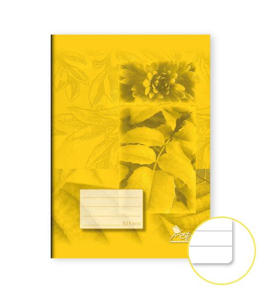 Zošit 523 Economy • 20 listový • linkovaný 12 mm • SKALNIČKY