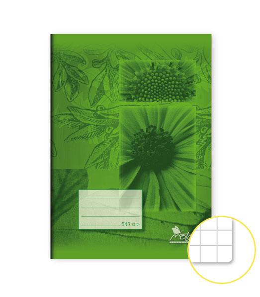 Zošit 545 Economy • 40 listový • štvorčekovaný 5×5 mm • SKALNIČKY