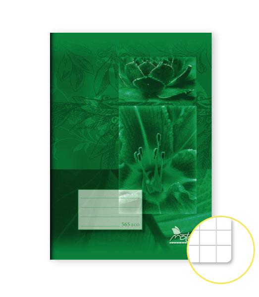 Zošit 565 Economy • 60 listový • štvorčekovaný 5×5 mm • SKALNIČKY