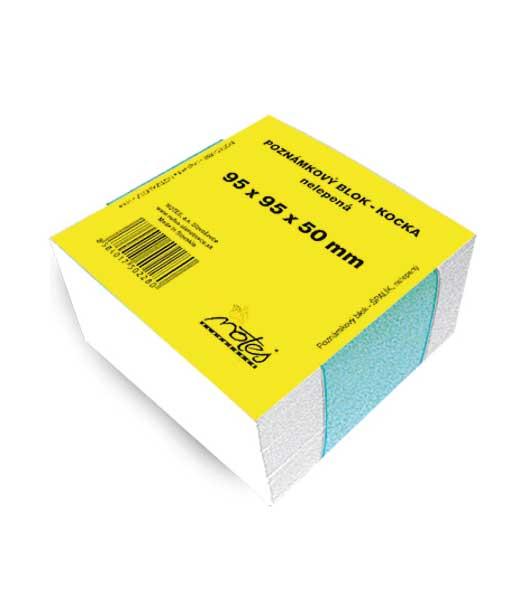 Poznámková kocka N959550/B • z bieleho papiera • nelepená NN