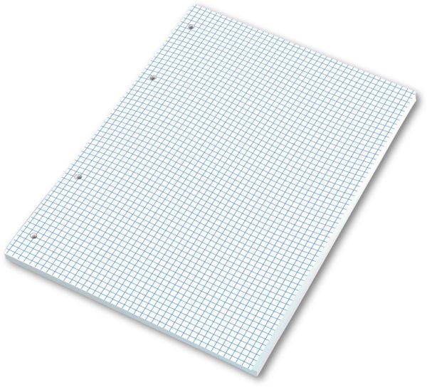 Náhradná náplň NN A4/1  • 100 listov • štvorčekovaná
