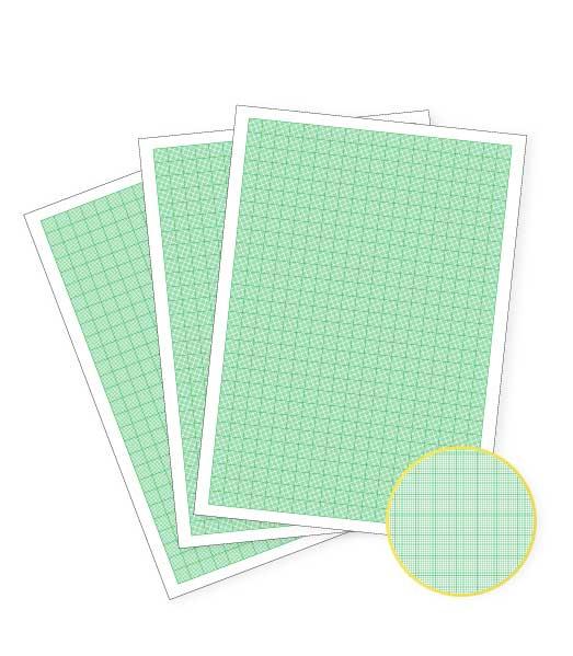 Milimetrový papier • 100 kusov • A4